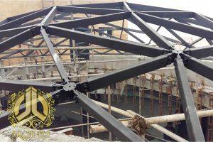 سازه فری فرم ساختمان فیوره آمل