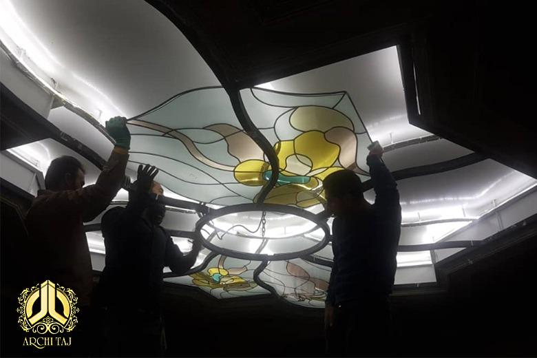 پروژه سقف کاذب مدرن ولنجک