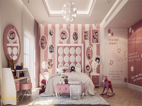 ایده هایی برای تزئین اتاق خواب کودکان