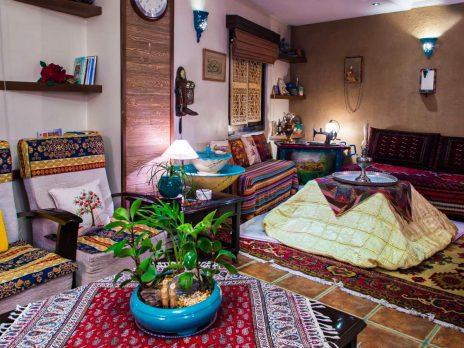 طراحی داخلی منزل به سبک سنتی