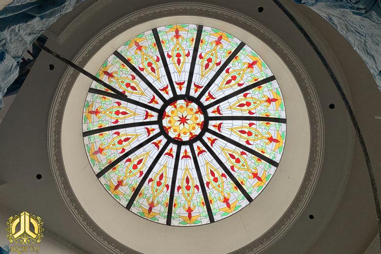 پروژه گنبد شیشهای در خانه ویلایی کرج