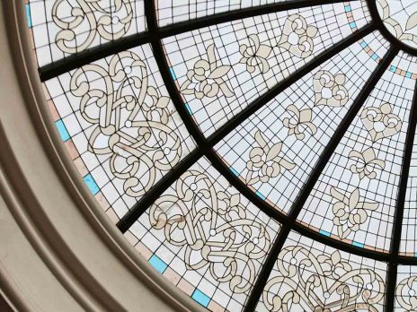 آشنایی با سازه گنبد شیشه ای