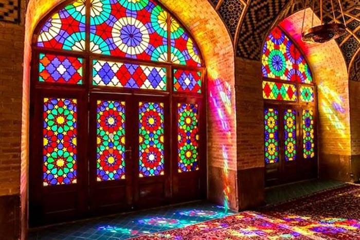 هنر تیفانی برگرفته از معماری قدیمی ایرانی