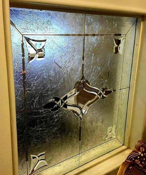 شیشه های تزیینی در ساختمان